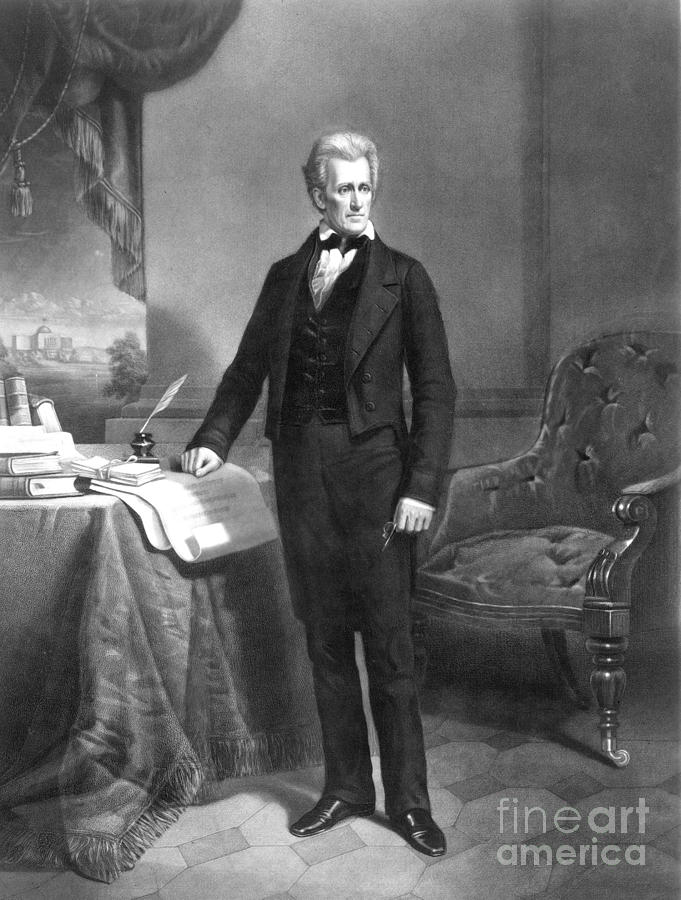 Andrew Jackson 1767 1845 Photograph By Granger