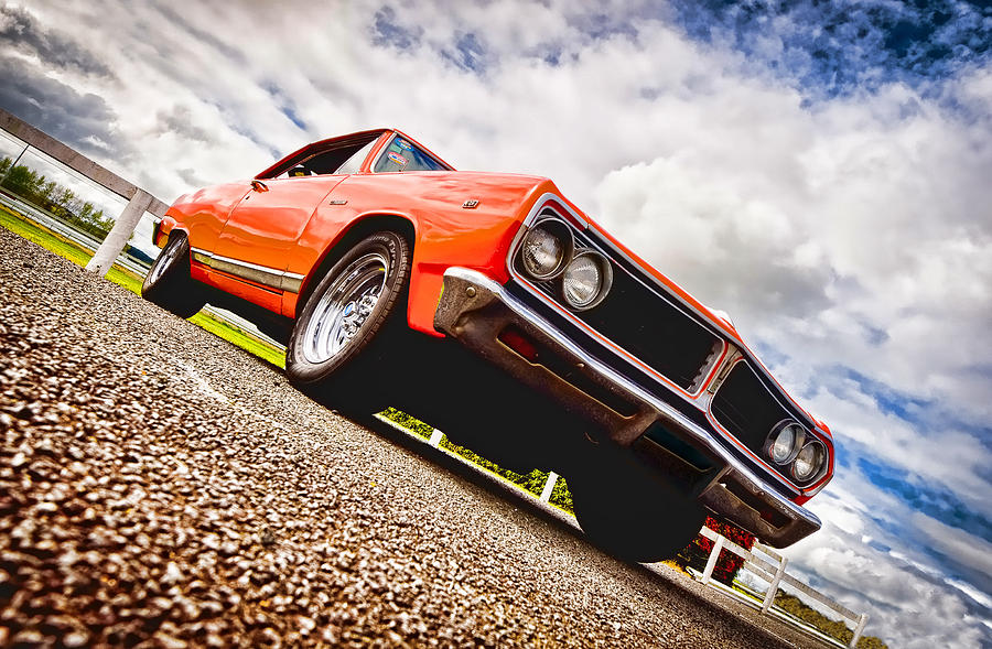 Chevrolet Acadian Photograph - 65 Chevrolet Acadian by Phil motography Clark