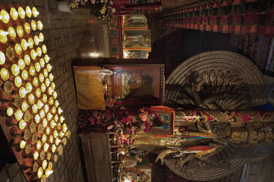 Buddhist Photograph - Untitled by Phil Borges