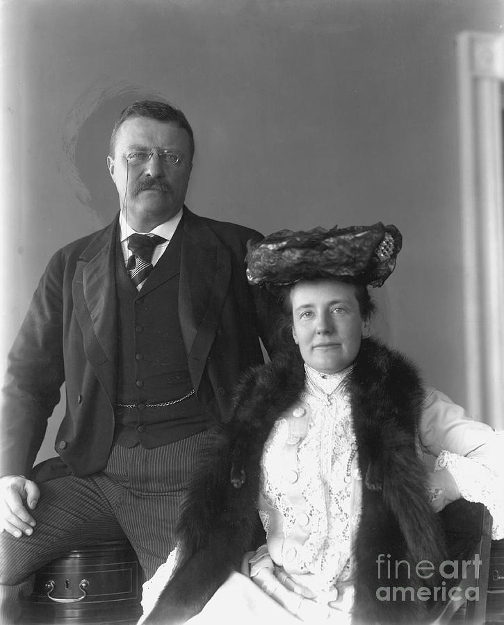 1902 Photograph - Theodore Roosevelt by Granger