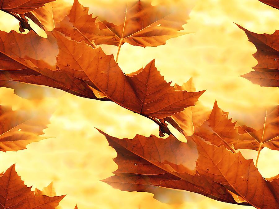 Autumn Digital Art - Autumn by Design Windmill