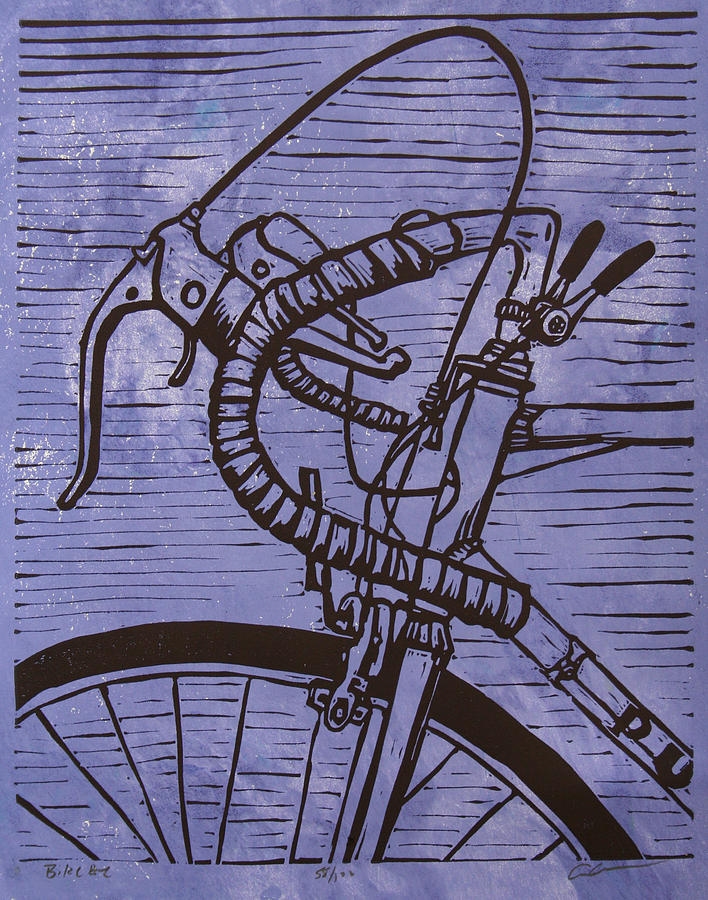 Bike Drawing - Bike 2 by William Cauthern