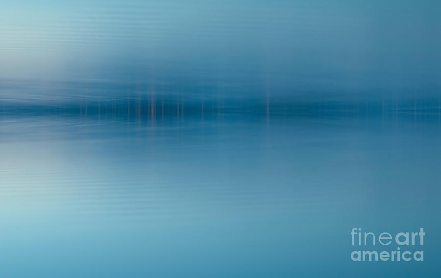Nature Digital Art - Blue Lake by Odon Czintos