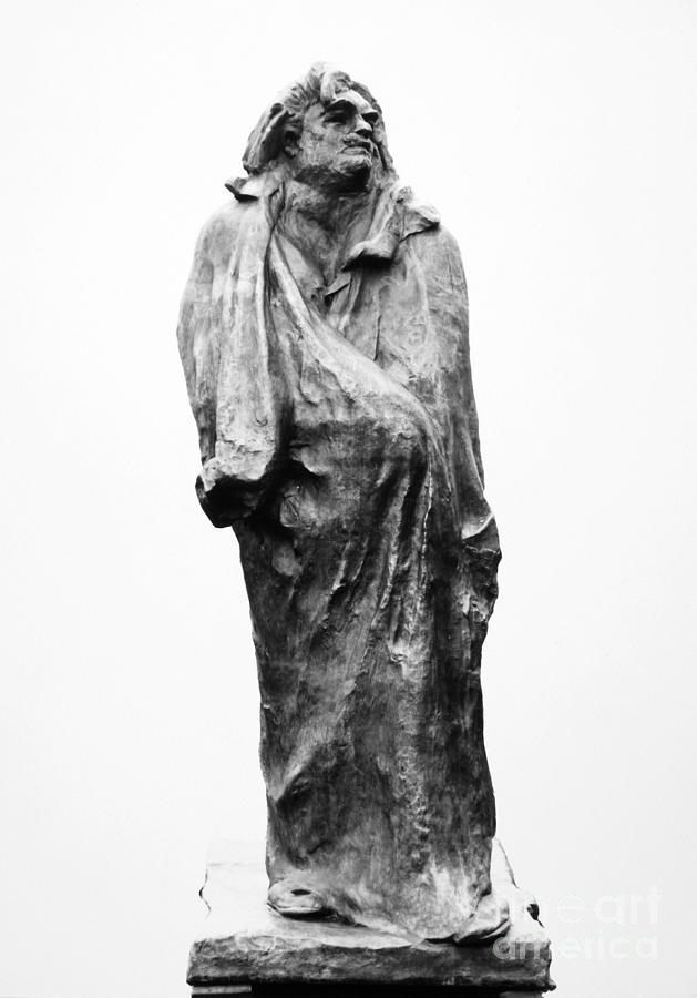 19th Century Photograph - Honore De Balzac (1799-1850) by Granger