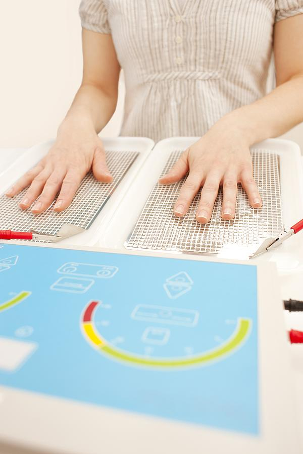 Indoors Photograph - Iontophoresis For Excess Sweating by