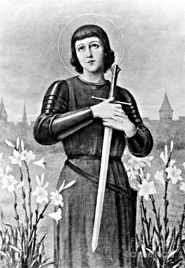 History Photograph - Joan Of Arc, French National Heroine by Photo Researchers
