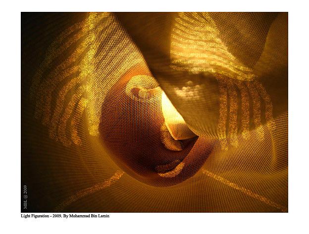Artists Mixed Media - Light Figuration Series by MBL Binlamin