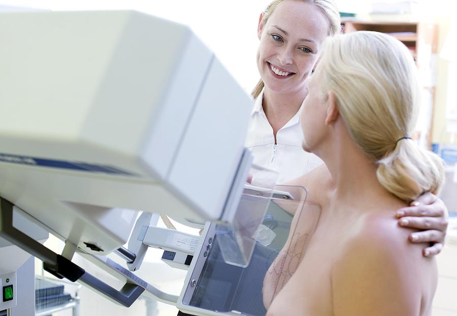 50s Photograph - Mammography by