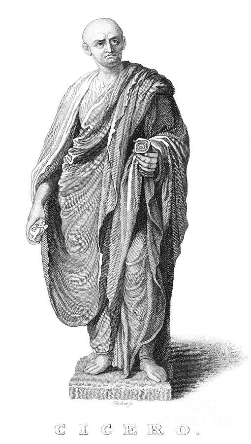 Ancient Photograph - Marcus Tullius Cicero by Granger