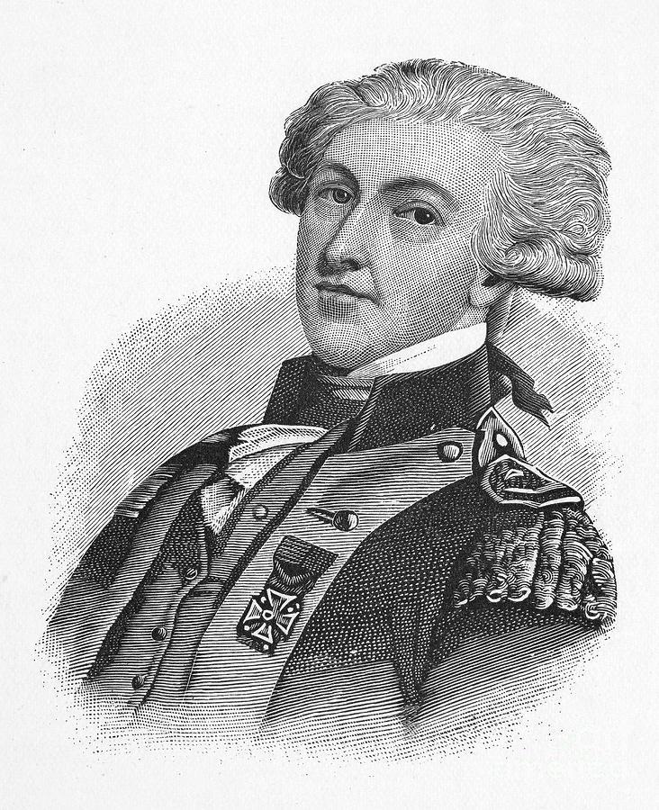 18th Century Photograph - Marquis De Lafayette by Granger