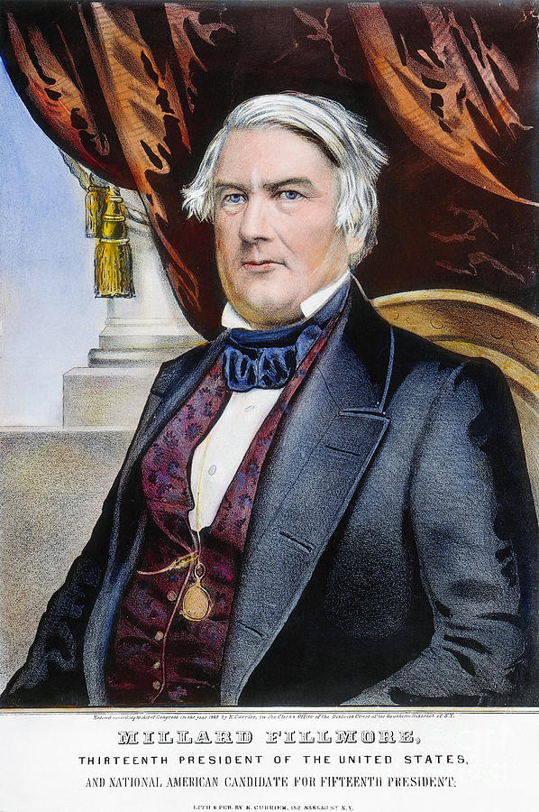 1856 photograph millard fillmore 1800 1874 by granger
