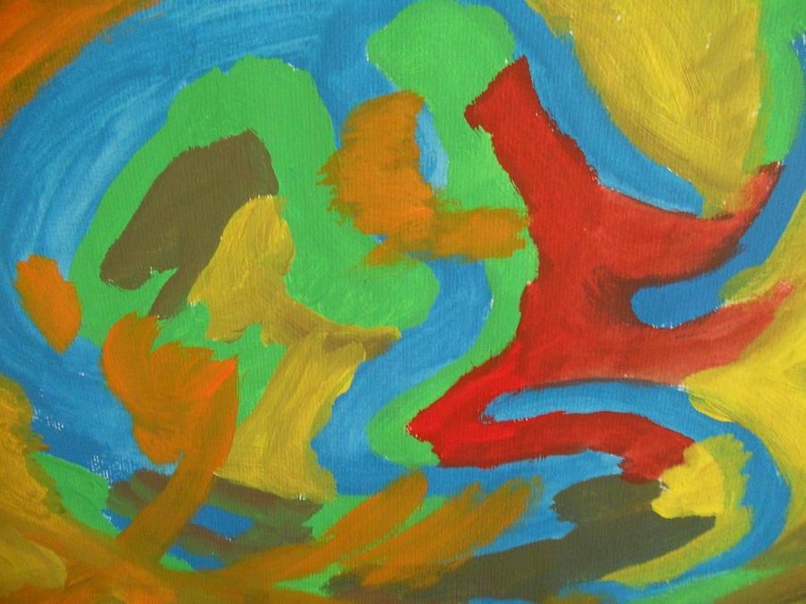 Mir Abstrakci Digital Art by Luba Ivanova