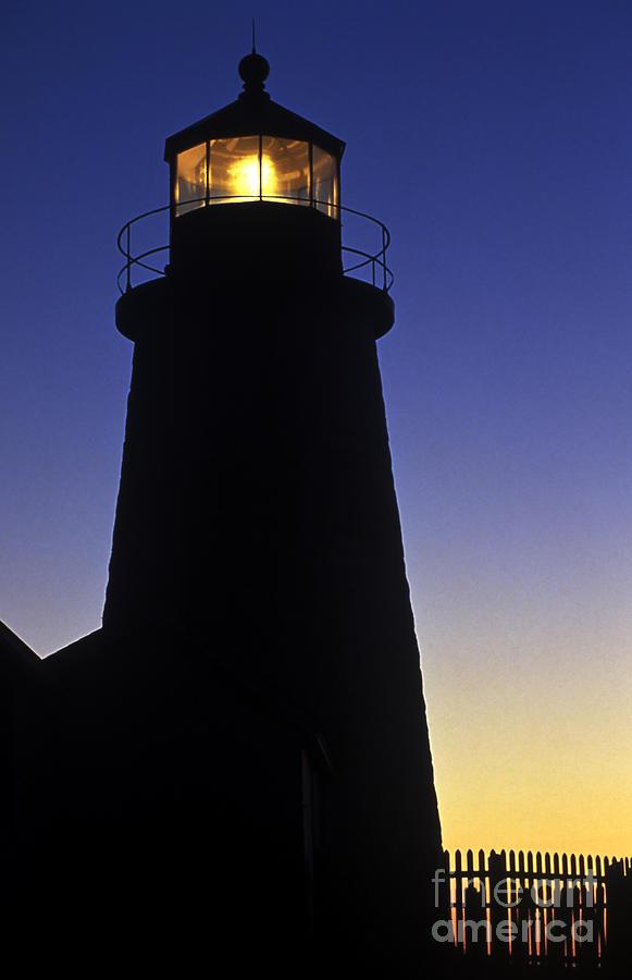 Maine Photograph - Pemaquid Point Lighthouse by John Greim
