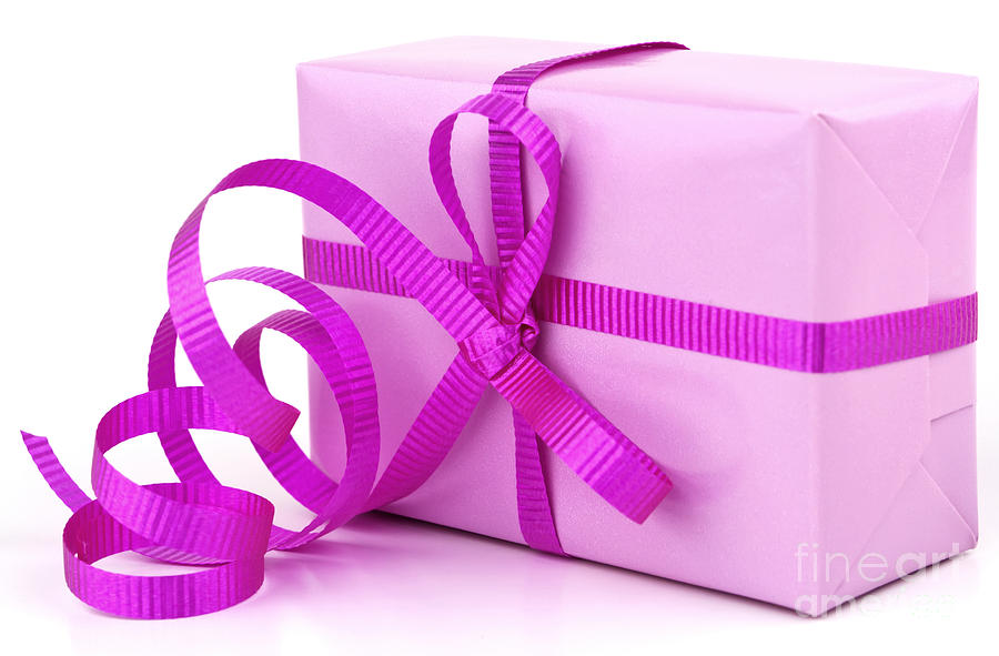 Pink Gift Photograph by Blink Images