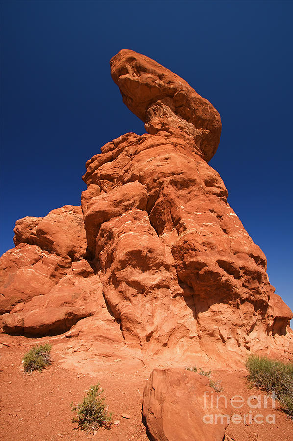 Balance Photograph - Red Rock Arches In The National Park In Utah by ELITE IMAGE photography By Chad McDermott