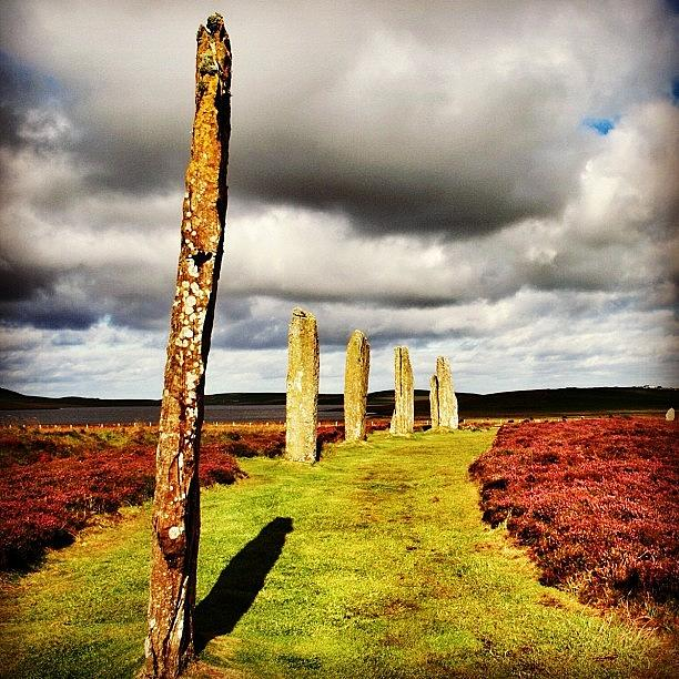 Outdoor Photograph - Ring Of Brodgar by Luisa Azzolini