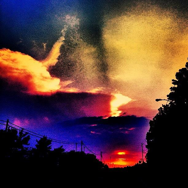 Awesome Photograph - Sunset by Katie Williams