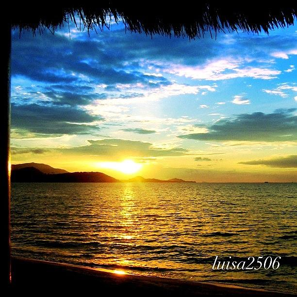 Beautiful Photograph - Tropical Sunset by Luisa Azzolini