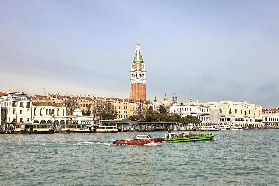 St Mark's Campanile Photograph - Venezia by Joana Kruse