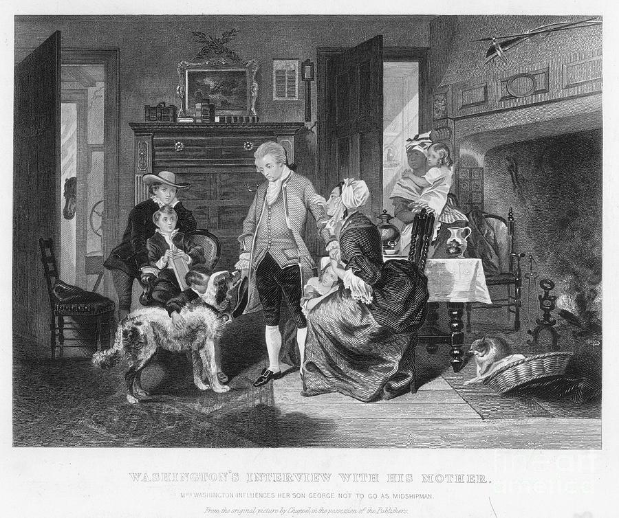 1746 Photograph - George Washington by Granger