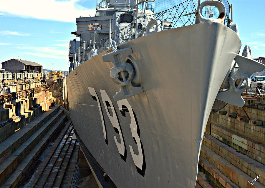 Ship Photograph - 793 by Bruce Carpenter