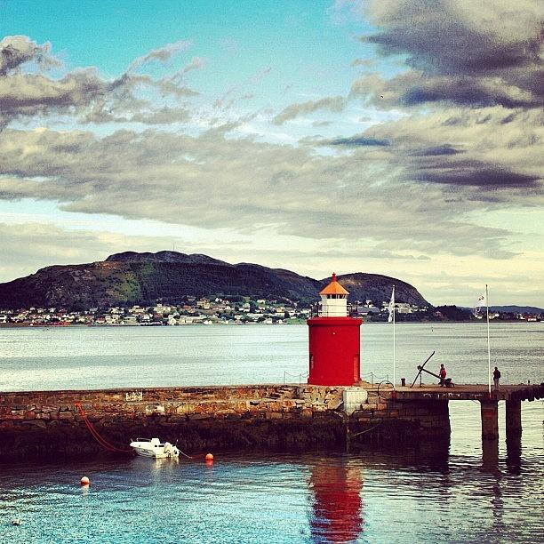 Outdoor Photograph - Alesund - Norway by Luisa Azzolini