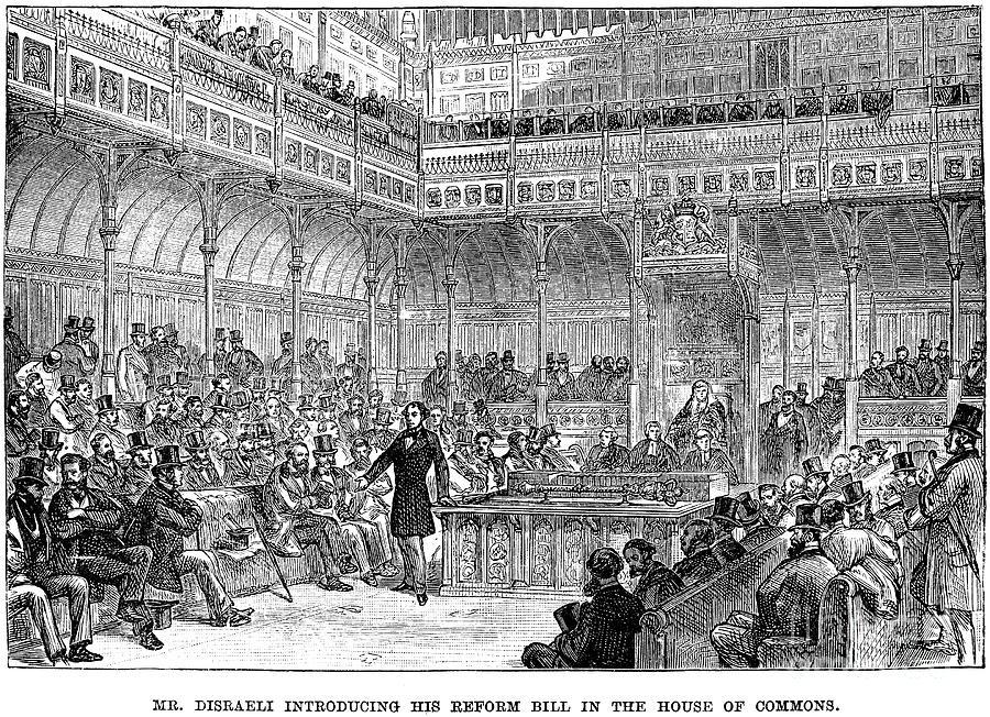 1867 Photograph - Benjamin Disraeli (1804-1881) by Granger