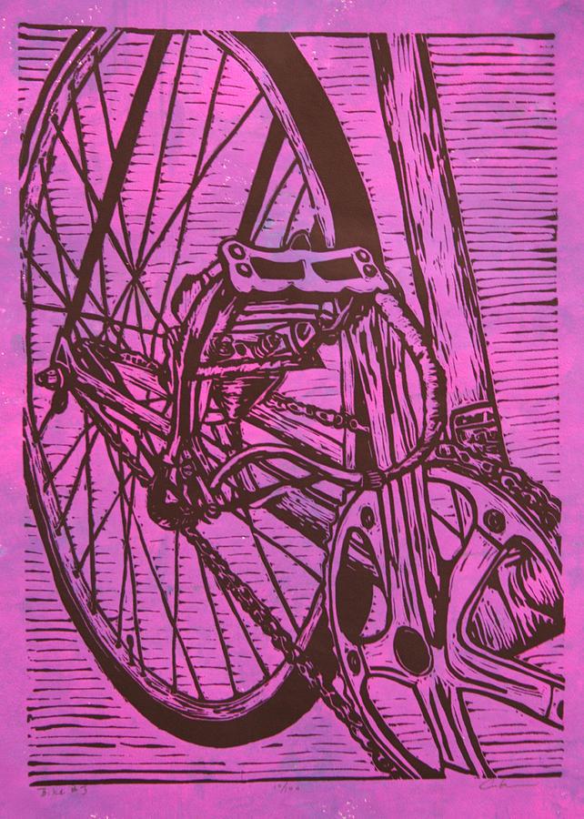 Bike Drawing - Bike 3 by William Cauthern