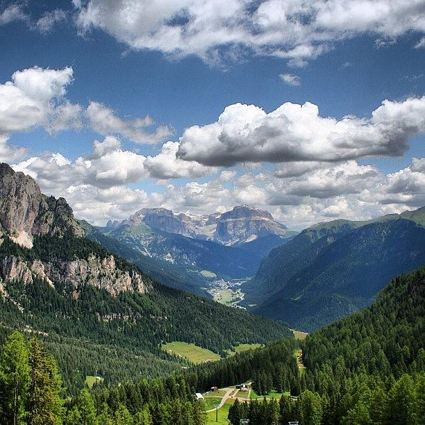 Scenery Photograph - Dolomites by Luisa Azzolini