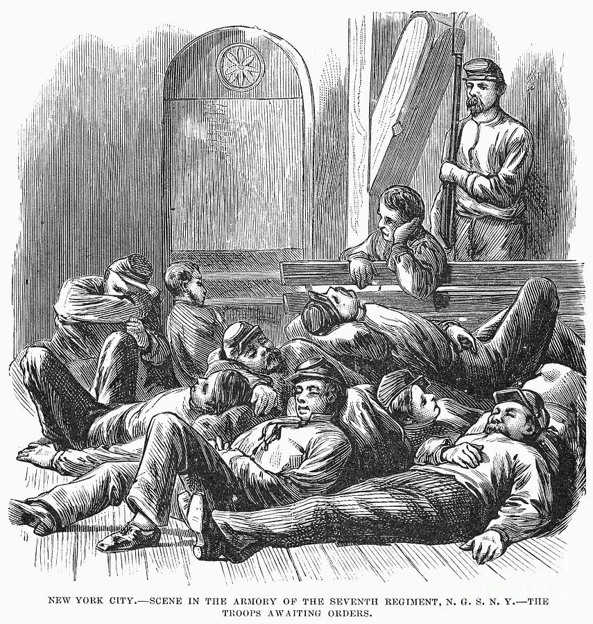 1877 Photograph - Great Railroad Strike, 1877 by Granger