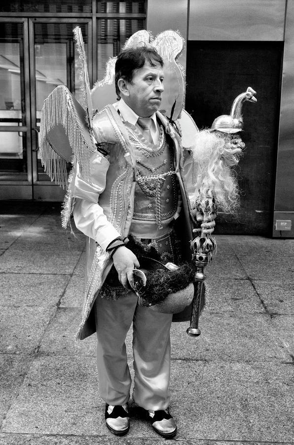 Ethnic Pride Photograph - Hispanic Columbus Day Parade Nyc 11 9 11  by Robert Ullmann