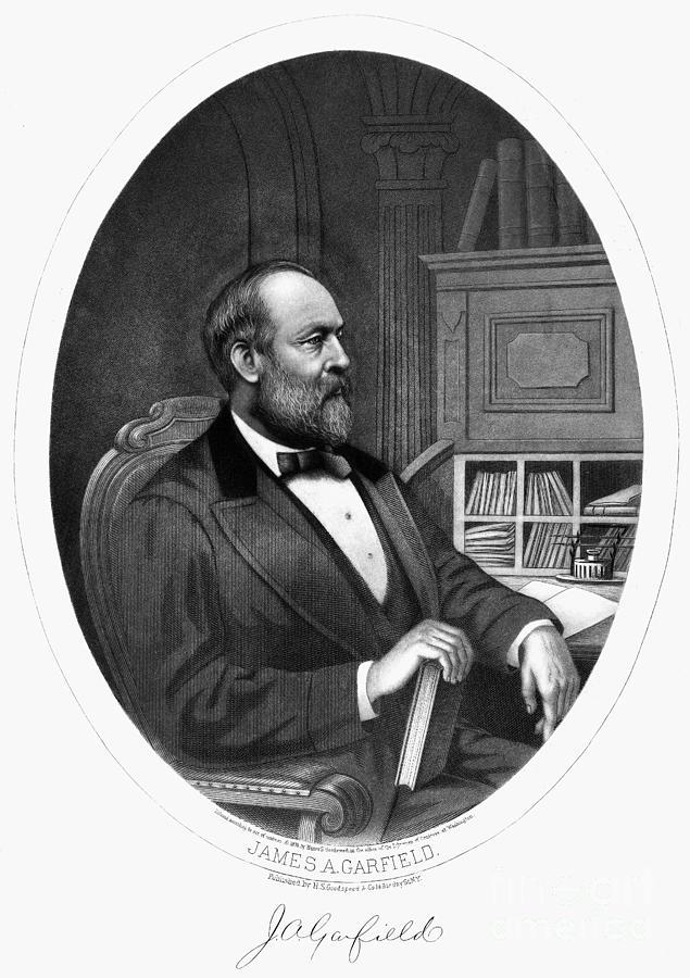 1876 Photograph - James A. Garfield (1831-1881) by Granger