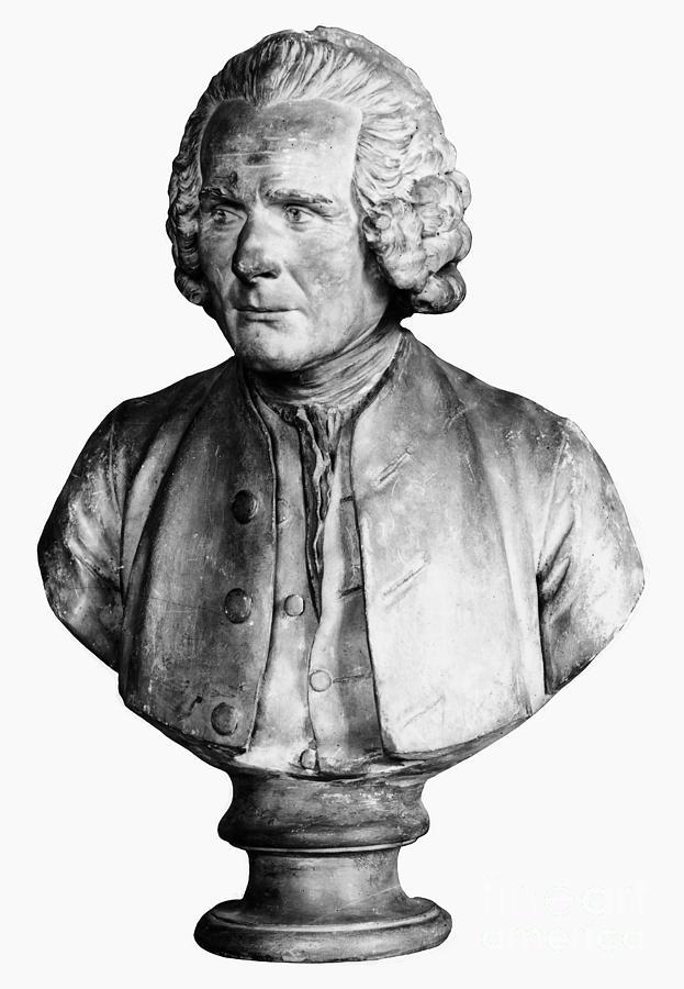 1778 Photograph - Jean Jacques Rousseau by Granger