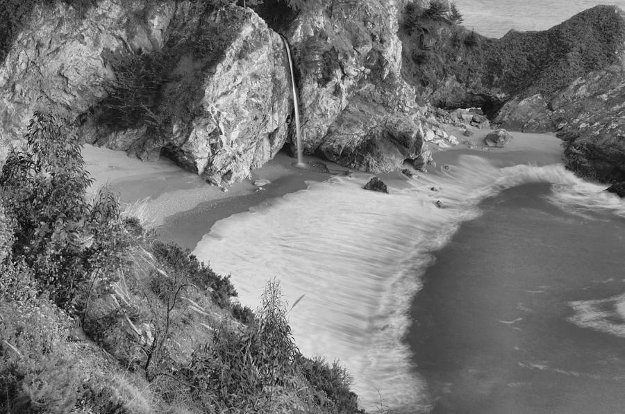 Mcway Falls Photograph - Mcway Falls - Big Sur by Stephen  Vecchiotti