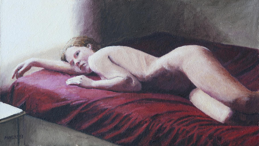Nude Painting - Morning Light by Masami Iida