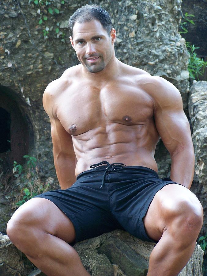 Marius Photograph - Muscleart Marius Poser Classic by Jake Hartz