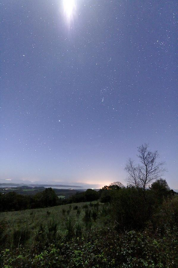 Star Photograph - Night Sky by Laurent Laveder