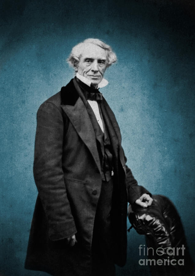 Science Photograph - Samuel Morse, American Inventor by Science Source
