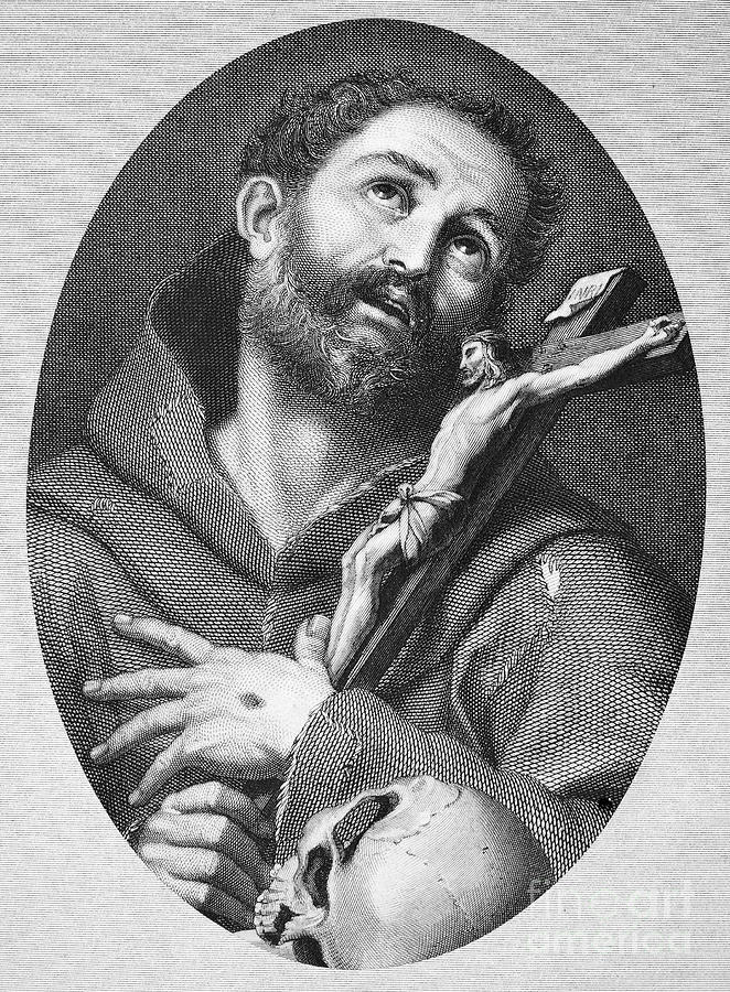 13th Century Photograph - St. Francis Of Assisi by Granger