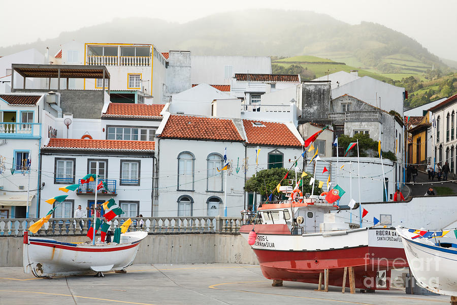 Harbor Photograph - Vila Franca Do Campo by Gaspar Avila