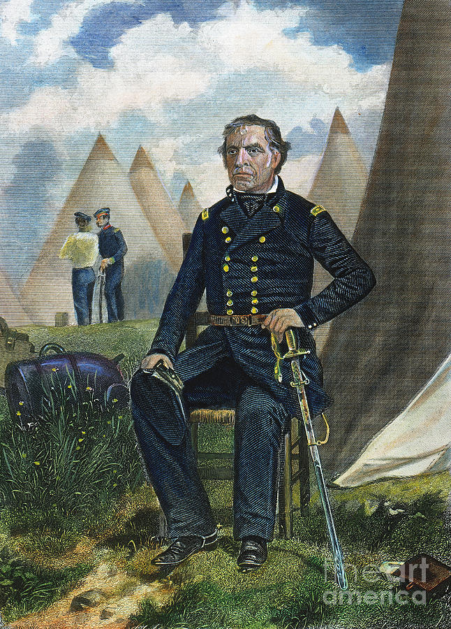 19th Century Photograph - Zachary Taylor (1784-1850) by Granger