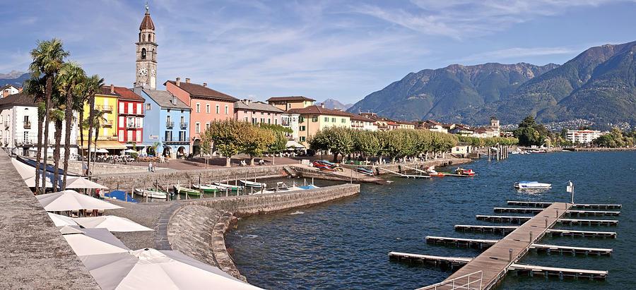 Apartment Photograph - Ascona - Ticino by Joana Kruse