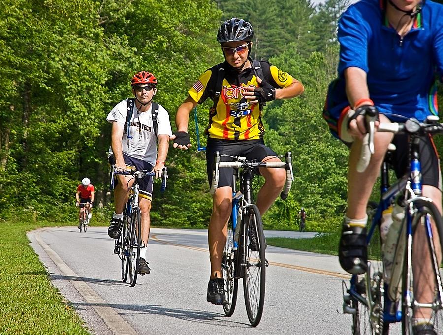 Across Photograph - Bicycle Ride Across Georgia by Susan Leggett