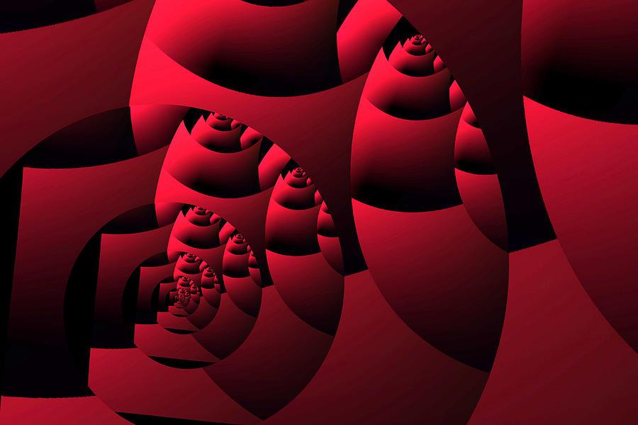 Decoupage Digital Art by Mihaela Stancu