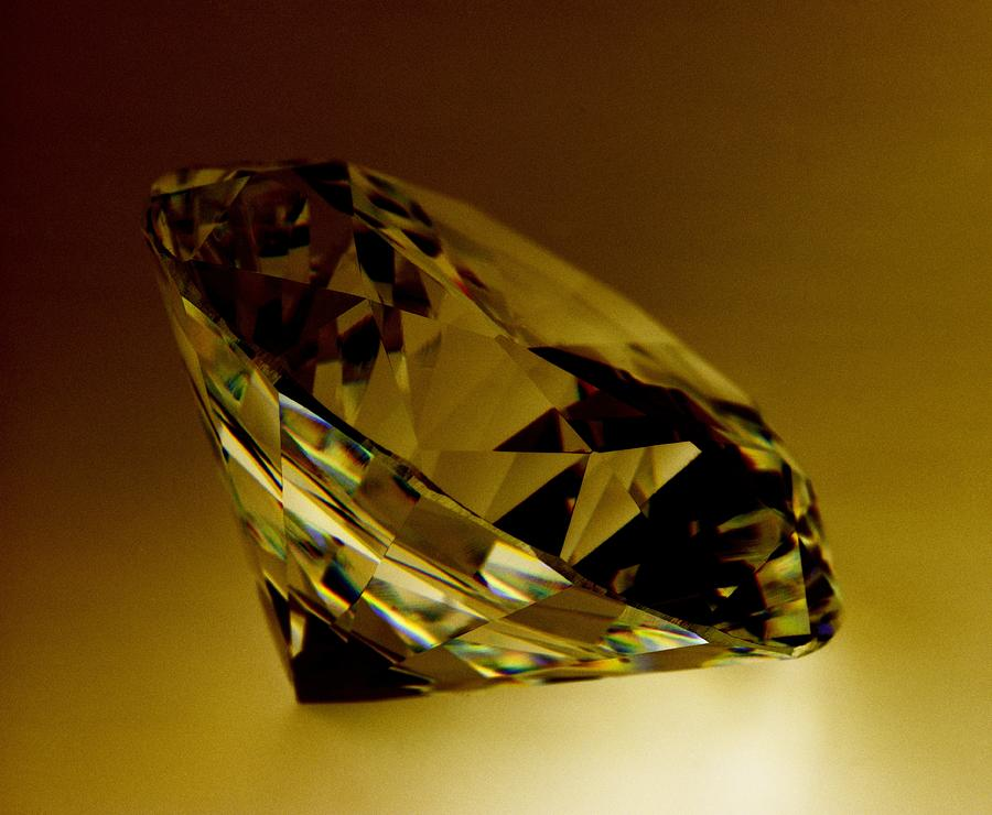 Diamond Photograph - Diamond by Lawrence Lawry