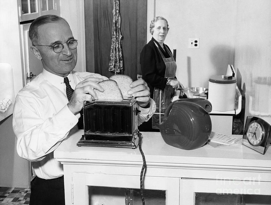 1944 Photograph - Harry S. Truman (1884-1972) by Granger
