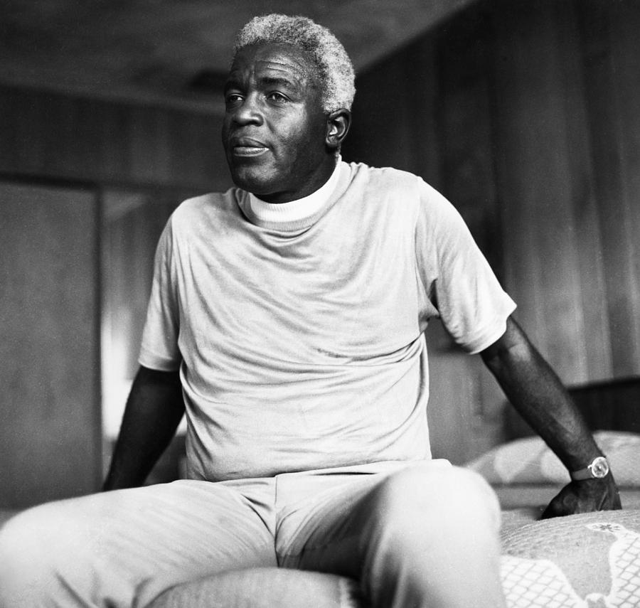 1971 Photograph - Jackie Robinson (1919-1972) by Granger