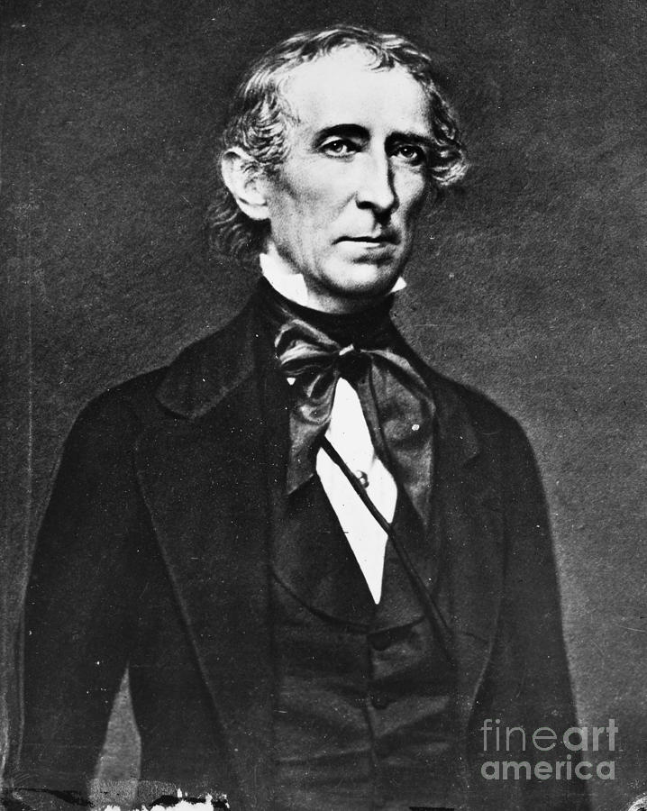 John Tyler 1790 1862 Photograph By Granger