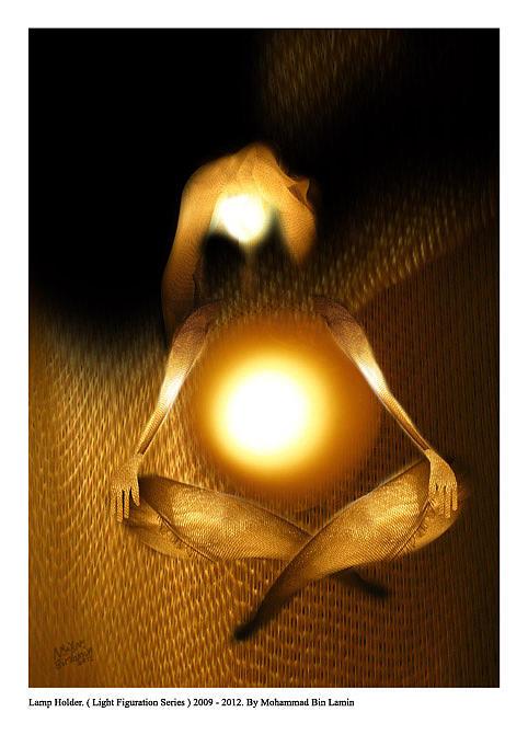 Digital Collage Digital Art - Light Figuration Series by MBL Binlamin