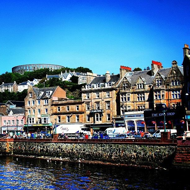 Beautiful Photograph - Oban by Luisa Azzolini
